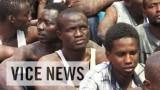 Migranten en vluchtelingen uit Libië vertellen dat ze gevangen worden genomen voor losgeld